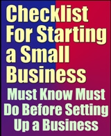 Checklist for Starting a Small Business