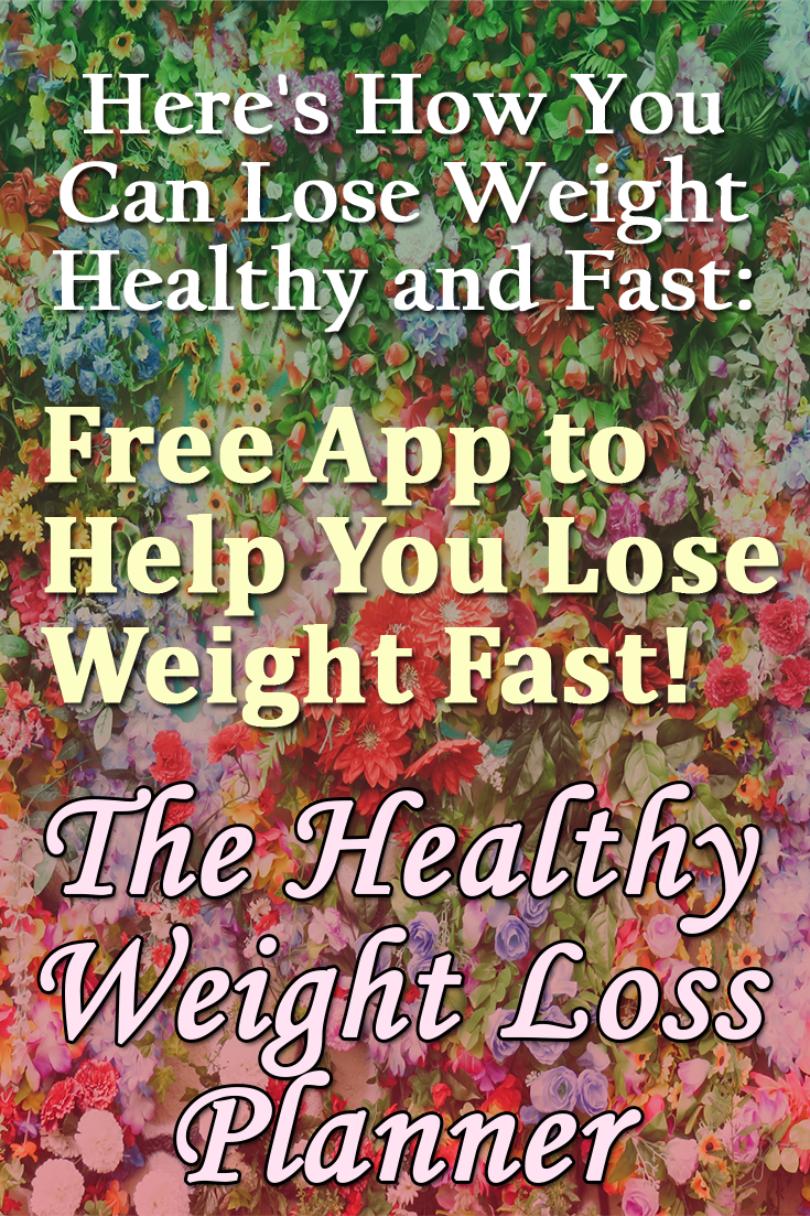 Healthy weight loss planner