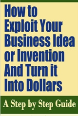 How to Exploit Your Business Idea or Invention and Turn it Into Dollars