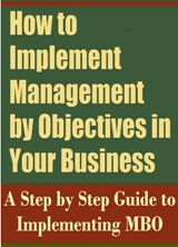 How to implement Management by Objectives