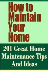 How to Maintain Your Home