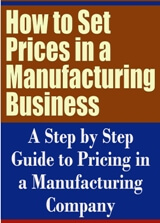 How to Set Prices in a Manufacturing Business