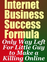 Internet Business Success Formula