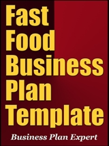 Fast Food Business Plan Template Free Word Excel Format - Food business plan template